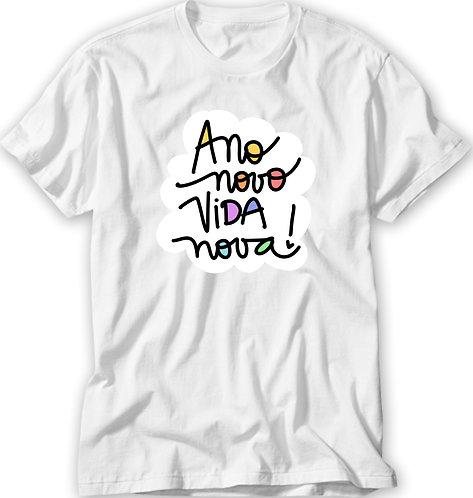 Camiseta Ano Novo Vida Nova!