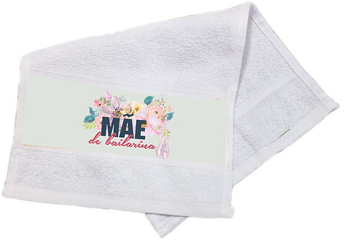 Toalha Lavabo Mãe de Bailarina Modelo 04