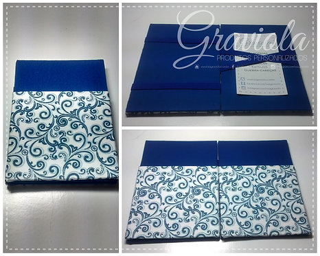 Carteira Mágica - Swirl Azul