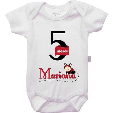 Mêsversário - Joaninha I - 5 meses
