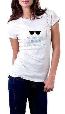 Camiseta - ACEDE - Não quero ver