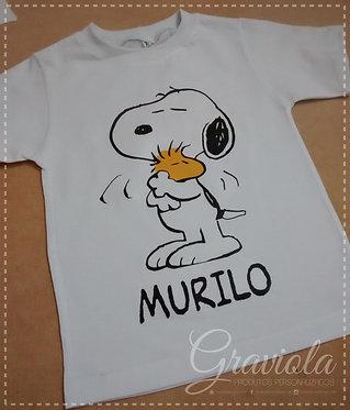 Camiseta Infantil - Snoop