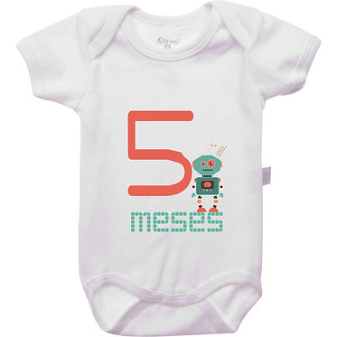 Mêsversário - Robôs - 5 meses