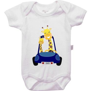 Body - Girafa Mãe + Filho