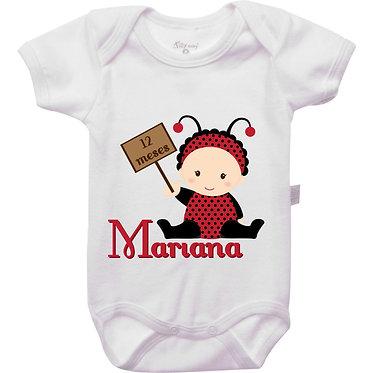 Mêsversário - Joaninha II - 12 meses