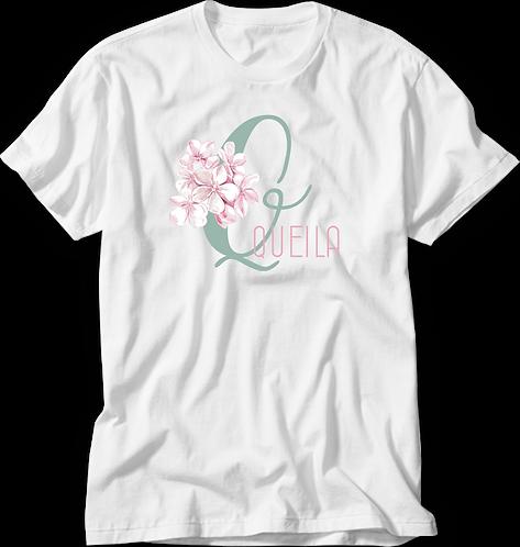 Camiseta Inicial Bouquet