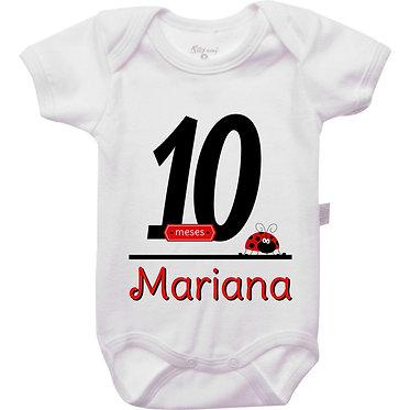 Mêsversário - Joaninha III - 10 meses