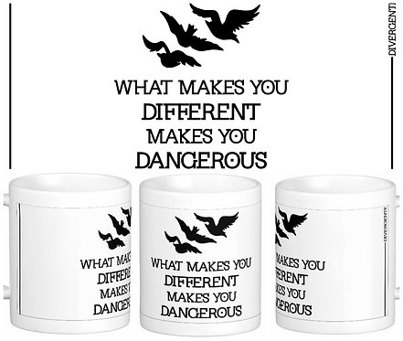 Caneca Divergente - What Makes You Different
