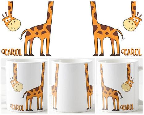 Canecas Diversas - Girafa II