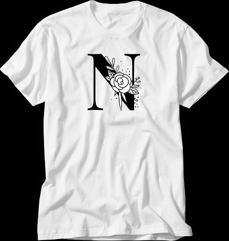 Camiseta Inicial P&B