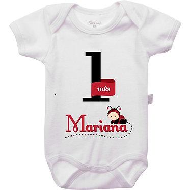 Mêsversário - Joaninha I - 1 mês