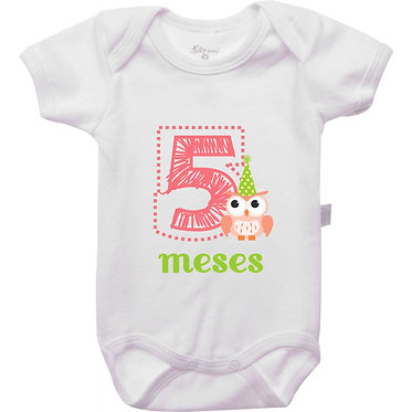 Mêsversário - Corujas - 5 meses
