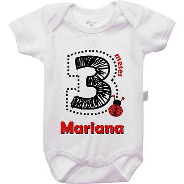 Mêsversário - Joaninha IV - 3 meses