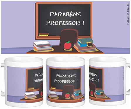 Caneca Dia dos Professores - Parabéns