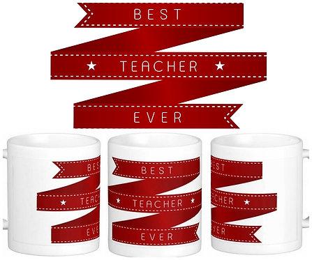 Caneca Dia dos Professores - Best Teacher