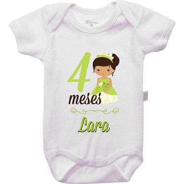 Mêsversário - Princesas - 4 meses