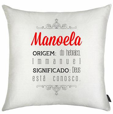Almofada Significado Nome - Manoela