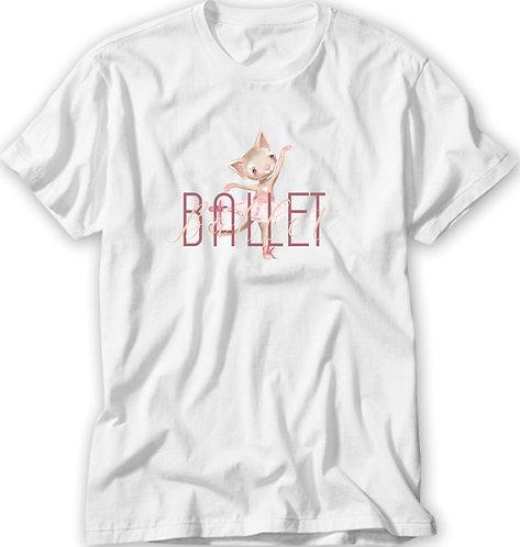 Camiseta Ballet Bichinhos