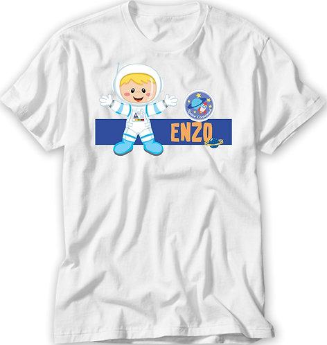 Camiseta Astronauta Menino