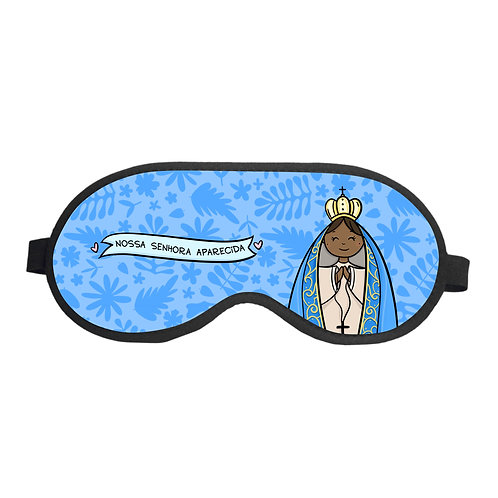Máscara de Dormir Nossa Senhora Aparecida Modelo 01