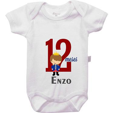 Mêsversário - Príncipe II - 12 meses