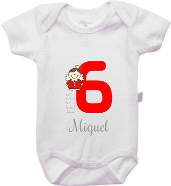Mêsversário - Anjinhos II - 6 meses