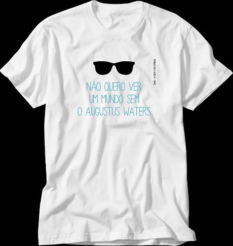 Camiseta A Culpa é das Estrelas Não Quero Ver