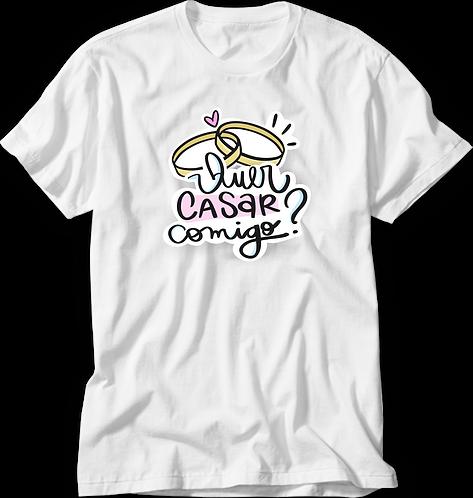 Camiseta Quer Casar Comigo?