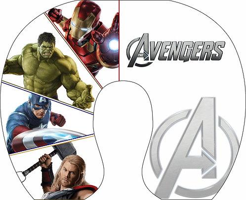 Almofada de Pescoço Avengers - Vingadores