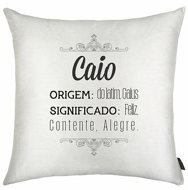 Almofada Significado Nome - Caio