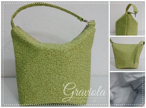 Lancheira Térmica Mini - Folhagens Verde
