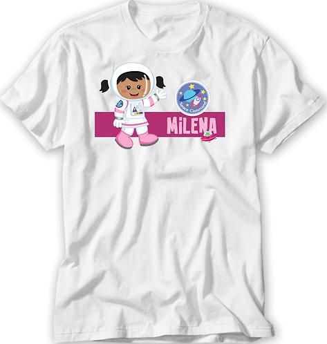Camiseta Astronauta Menina