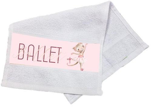 Toalha Lavabo Ballet Bichinhos