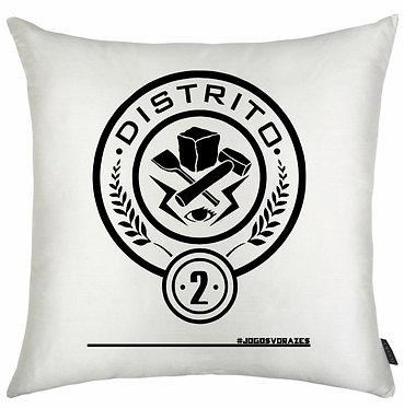 Almofada Jogos Vorazes - Distrito 2