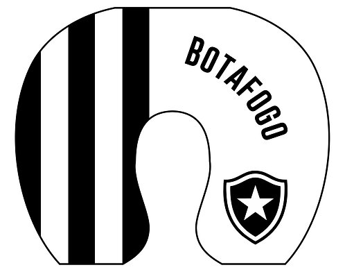 Almofada de Pescoço Botafogo - Modelo 02