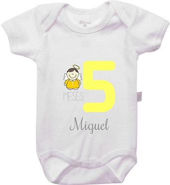 Mêsversário - Anjinhos II - 5 meses
