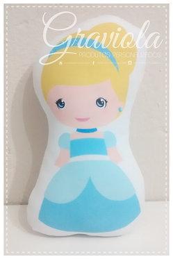 Mini Almofada - Cinderela