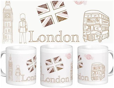 Canecas Pelo Mundo - Londres