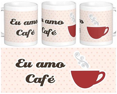 Canecas Diversas - Amo Café