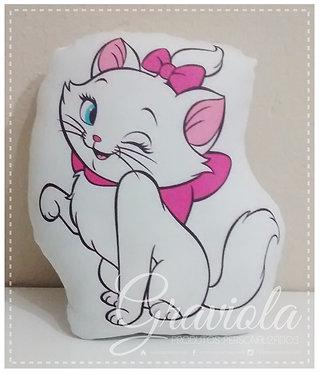 Mini Almofada - Gatinha Marie