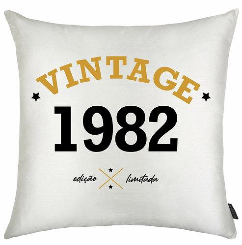 Almofada Vintage - Edição Limitada
