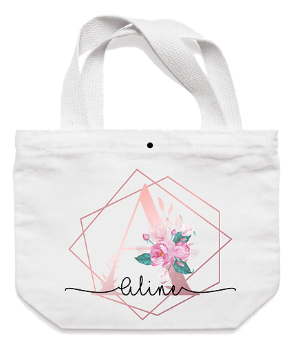 Ecobag Inicial Floral