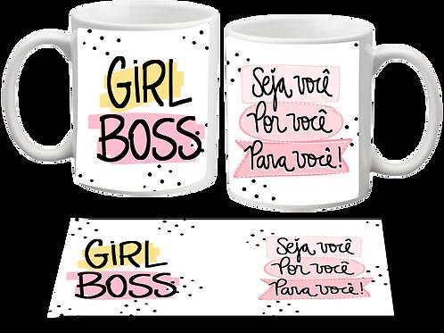 Caneca Girl Boss / Por Você