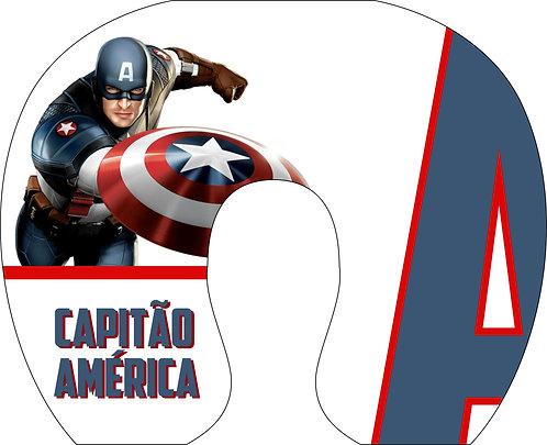 Almofada de Pescoço Capitão América - Modelo 01