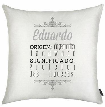 Almofada Significado Nome - Eduardo