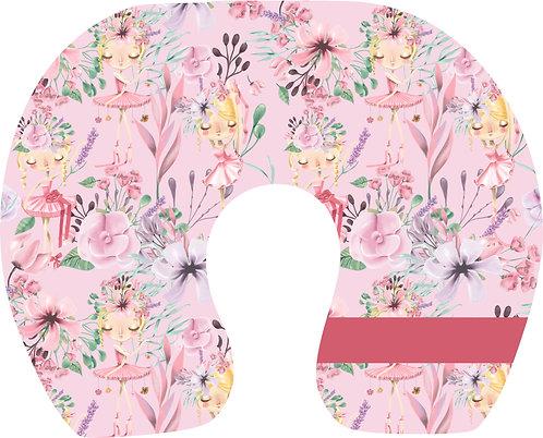Almofada de Pescoço Ballet - Flowers