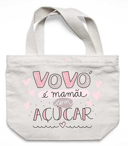Ecobag Vovó é Mamãe com Açúcar