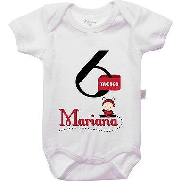 Mêsversário - Joaninha I - 6 meses