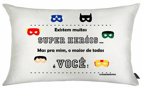Almofada Dia dos Pais - Super Herói