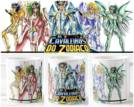 Caneca - Cavaleiros do Zodíaco III